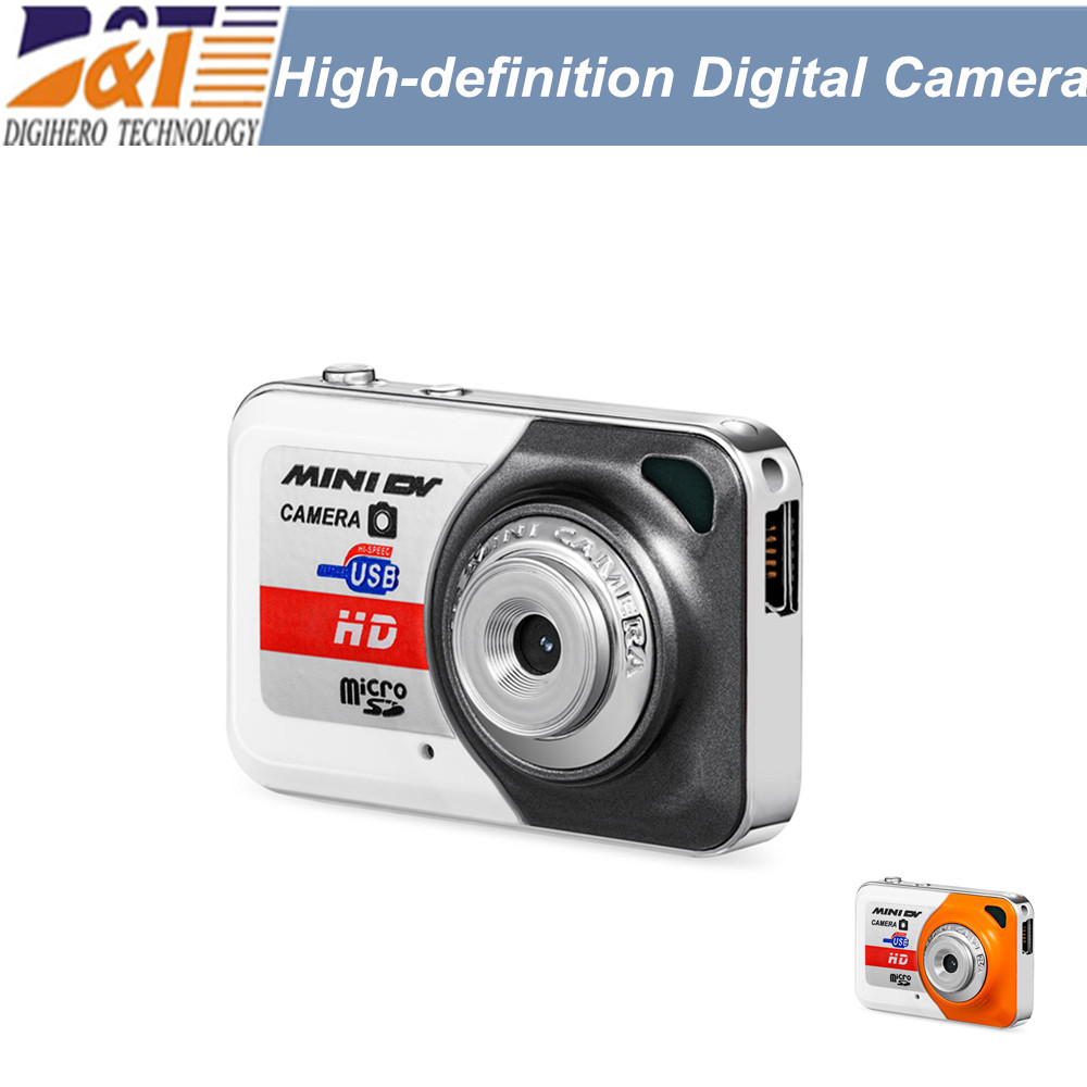 HOT !! X6 Smallest Mini DV high-definition Digital Camera Video 1280*960 Recorder Camcorder best gift optional(China (Mainland))