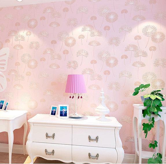 Wallpaper non woven fabrics papel de parede para quarto do - Papel para revestir paredes ...