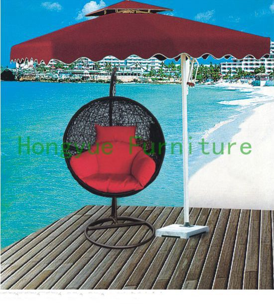 black egg shape rattan hammock,outdoor furniture<br><br>Aliexpress