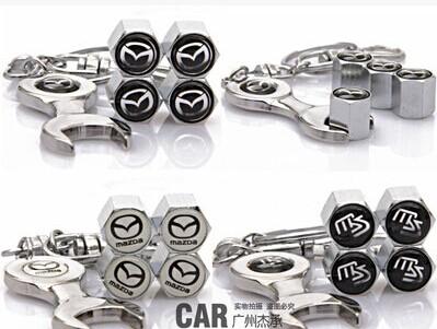 car styling mazda 3 2 mazda 6 CX5 CX-5 CX7 MX5 mazda ATENZA wheel valve cap high quality(China (Mainland))