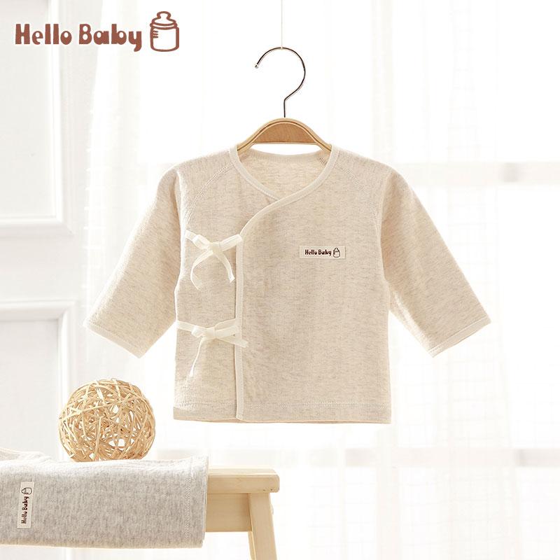 2017 Spring/Autumn Newborn Baby Organic Cotton Sleepwear&Outwear Tops, Long Sleeve Belt Underwear Sleep Gown For Baby Boys&Girls(China (Mainland))