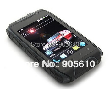 "3.5"" Waterproof Hummer H1 Hummer H1+Android 4.2.2 MTK 6572A 512/4GB Dual Core GPS Shockproof Duskproof Dual SIM POLISH"