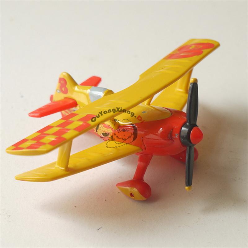 Metal Plastic Pixar Planes Model Toys Mini Planes 1:55 Model Dusty Metal Diecast Toy No. 8 Ryan Toy Plane Rare For Children(China (Mainland))