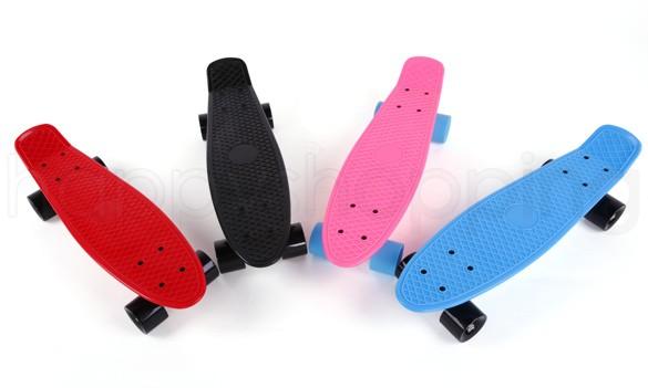 New Skateboard Board Backpack Mini Longboard Boy Girl Retro Cruiser Skateboard Skate Board Complete 12(China (Mainland))