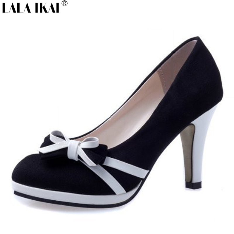 Гаджет  XWA117-5 2015 Fashion Women Pumps with Sweet Bow Female High Heels Shoes Bowtie Sapatos Femininos Spring Summer Dress Shoes None Обувь