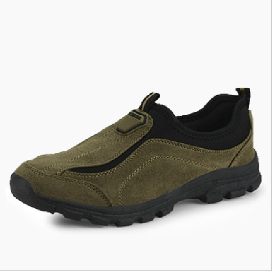 2015 Top Fasion Special Offer Yes Medium(b,m) MenRubber Outdoor Hiking Shoes Man Breathable Sports Slip-resistant Walking Male - Hard-working people store