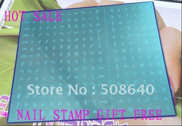 EXCELLENT Lowest Price New Big Size With 268/252 Designs DIY Nail Art Professional Printing Stamper Image templates