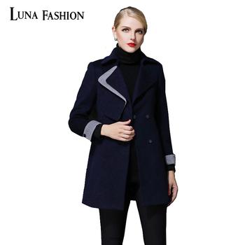 5xl 4xl 3xl manteau femme 2015 manteau d 39 hiver femmes abrigos invierno double boutonnage manteau. Black Bedroom Furniture Sets. Home Design Ideas