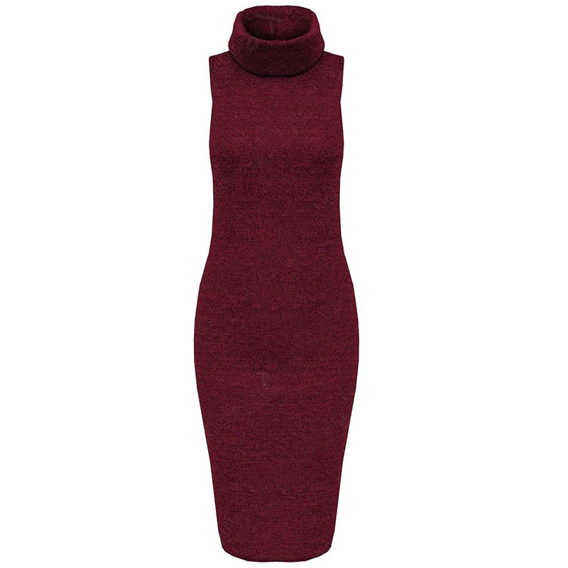 2015 New Winter Knit Dress Retro Turtleneck Bodycon Sweater Dresses Knitting Women Warm Plus Size Casual Women Clothing
