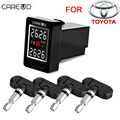CAREUD U912 With 4 Built in Sensors Car TPMS Wireless Auto Tire Pressure Monitoring System Squar