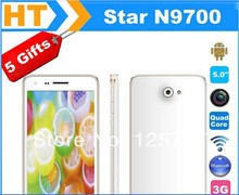 DHL Fast Delivery Star N9700 5 Inch MTK6582 Quad Core Android 4.2 IPS 960X540 8MP Dual Sim WCDMA 3G GPS WIFI GSM PHONE(China (Mainland))