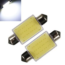 Big Promotin White 41MM 12 Chips COB C5W Car Auto Festoon Dome Interior LED Lights Lamp Map Roof Reading Bulb DC12V