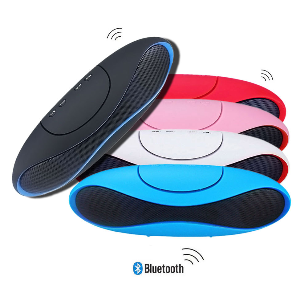 Portable Wireless Stereo Bluetooth Speaker Olives Shape Hands-free Boombox FM Radio Subwoofer With Mic For iphone Samsung PC(China (Mainland))