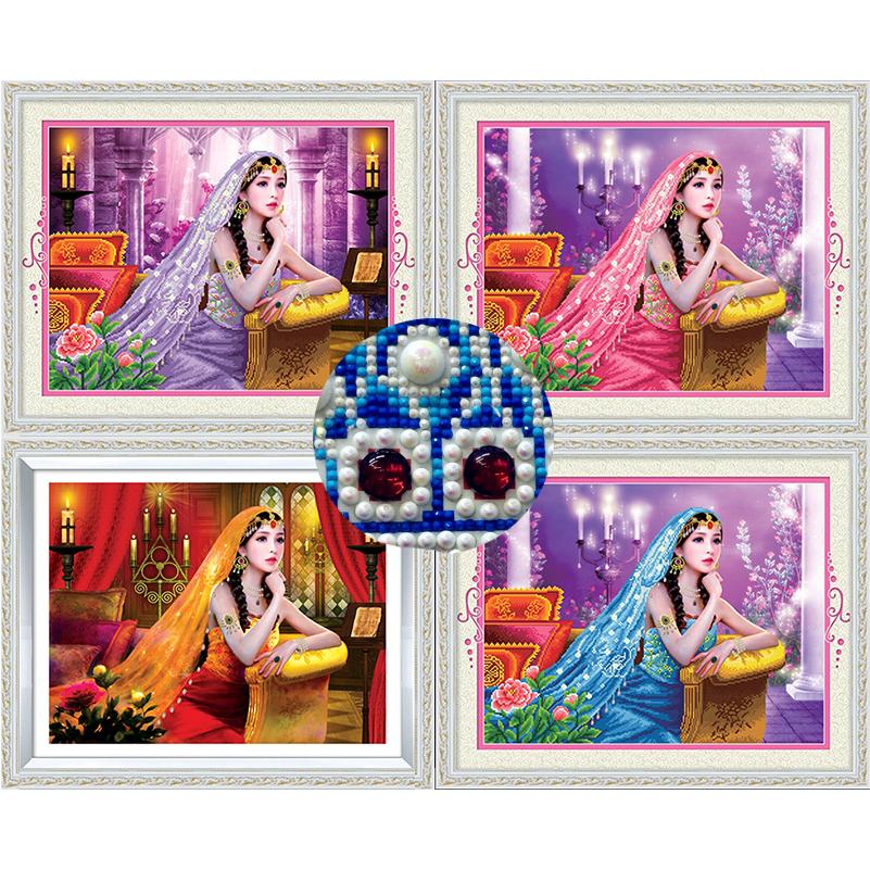 Buy diy diamond painting cross stitch kit living room