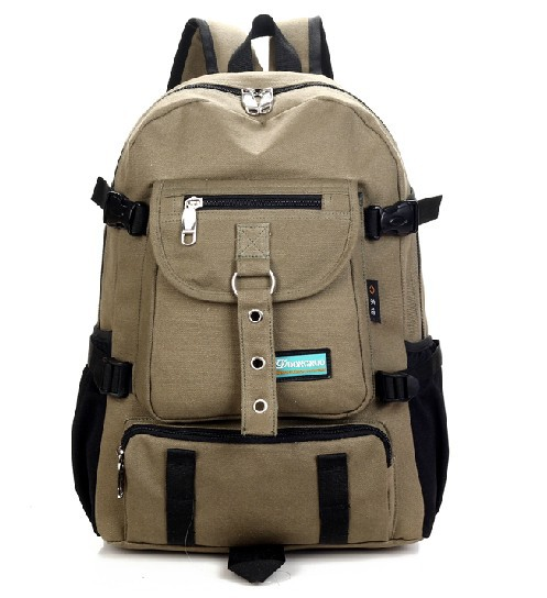 Free Shipping 2015 canvas school backpacks men's luggage & travel tourism bags camping military equipment backpack mochila(China (Mainland))