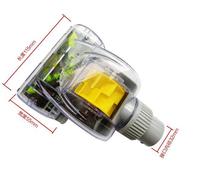 Universal 32mm Staubsauger Zubehör Turbo Pinsel Vibration Pinsel entfernen Milben & Tief reinigen Turbo Kopf bequeme Reinigung(China (Mainland))