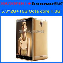 Original Lenovo S8 S898T+ Phone MTK6592 Octa Core Android Smartphone 2GB RAM 16GB ROM 5.3″ HD OGS Screen 13.0MP Camera