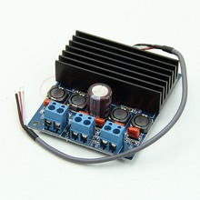 Amplifier Board TDA7492 D Class High-Power Digital 2x50W AMP with Radiator High Quality(China (Mainland))