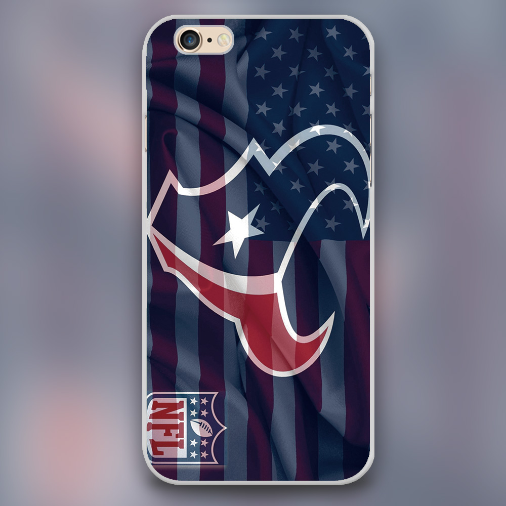 NFL Houston Texans Design plastic case cover cell phone cases for Apple iphone 4 4s 5 5c 5s 6 6s 6plus hard shell(China (Mainland))
