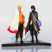 Buy 2Pcs/Set Naruto Figures Uzumaki Naruto And Uchiha Sasuke PVC Action Figure Toys Model Dolls 17cm Approx Great Gift for $11.35 in AliExpress store