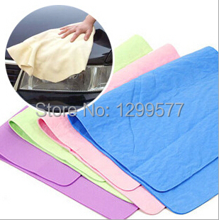 2pcs/lot Pet towel, strong water absorption imitation buckskin towel for dogs Humans can also use have S/M/L SIZE(China (Mainland))