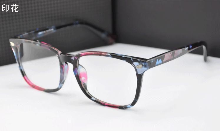 Ceramic plant animal pattern frame Custom made optical lenses Reading glasses -1.0 -1.5 -2.0-2.5 -3.0 -3.5 -4 .0-4.5 -5 -5.5 -6(China (Mainland))