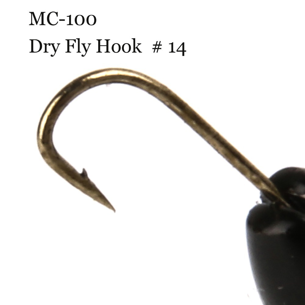 500 Pieces Mc 100 14 12mm 5mm Fly Tying Hook Carbon