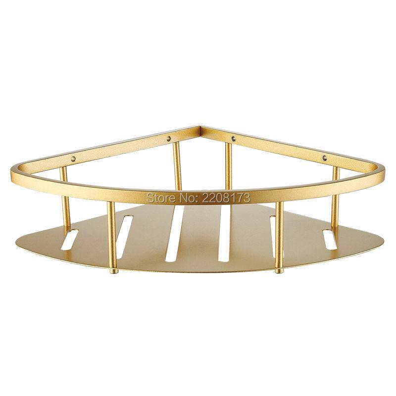 Organizador De Baño Acero Inoxidable:Calidad de Oro de acero Inoxidable SUS304 Ducha Colgando estante de