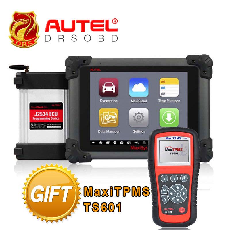 AUTEL MaxiSys Pro MS908P Car Diagnostic / ECU Programming Automotive Diagnostic Tool with Bluetooh/WiFi +Gift MaxiTPMS TS601(China (Mainland))