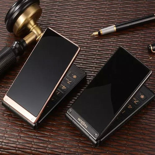 Big voice And Keyboard Touch Screen Luxury Flip Mobile Phone Old Man Cell Phones Russian Keyboard Dual SIM card Unlocked Phone(China (Mainland))