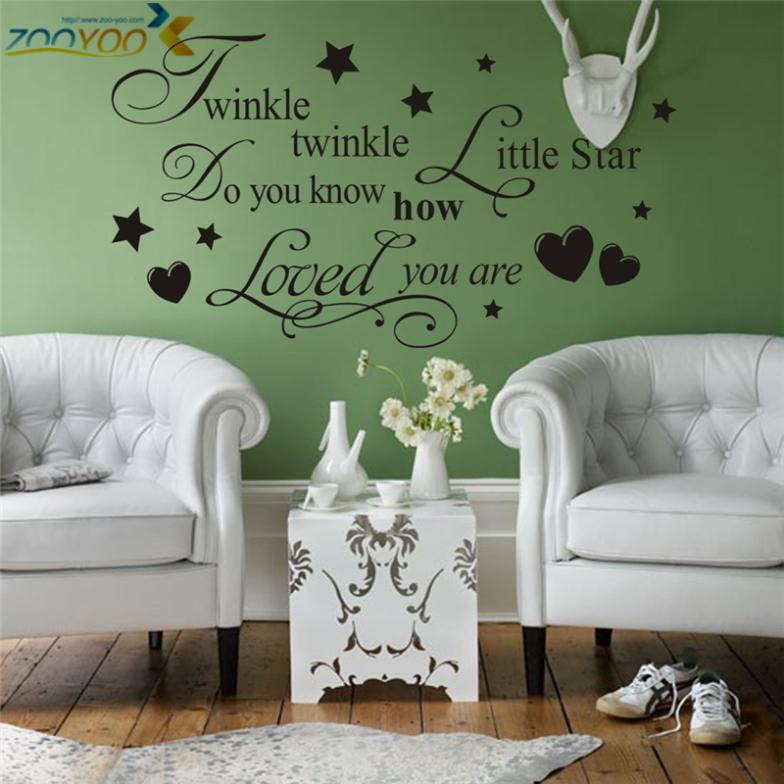Creative wall stickers #24 Word