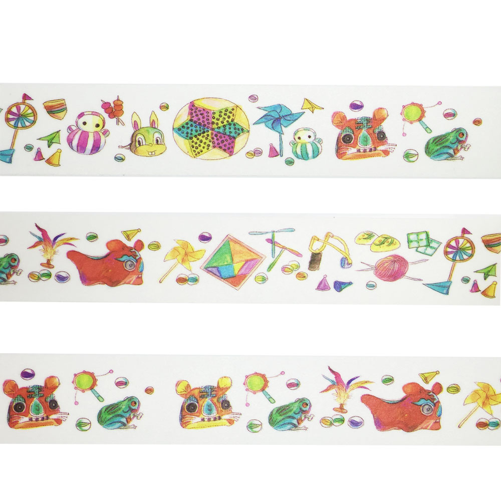Fans Kite Rabbit Washi Paper Tape Scrapbooking Tools Decorative Cinta Adhesive Decor Japanese Stationery sticker Masking Tape(China (Mainland))
