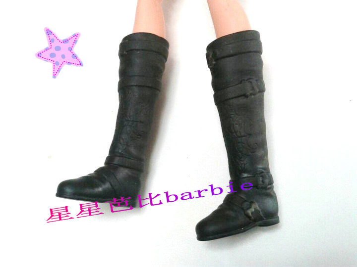 9 completely different types for select Informal Boots Excessive heel  Sports activities footwear for Barbie 1:6 Doll Trend Latest BBI00172