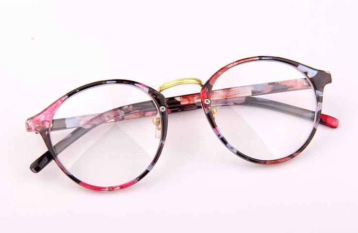 Eyeglass Frames On Models : New-Fashion-Women-Cute-Elegant-Classic-Round-Eyewear ...