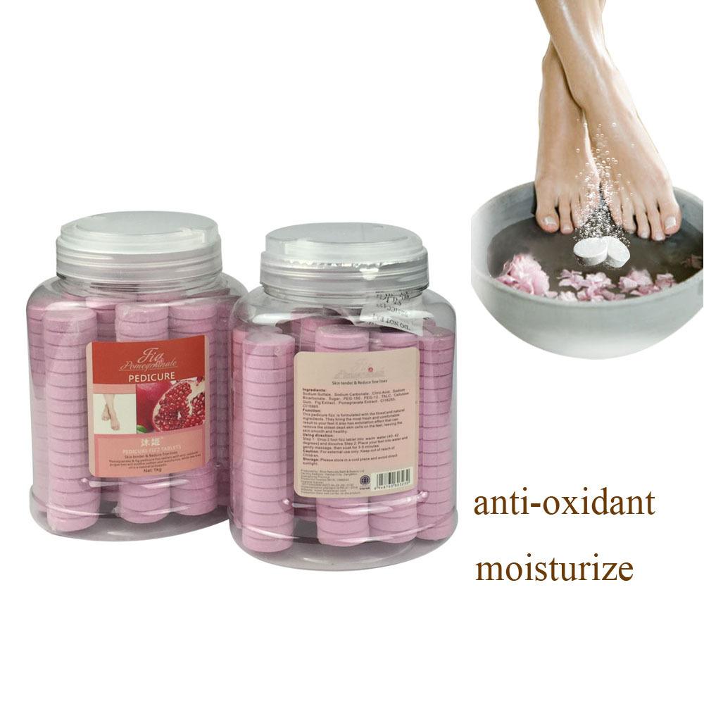 Foot Spa For Pedicure Soak Have Fungus Treatment Soften Cuticle Pomegranate Fig 1000g Pedicure Set Use