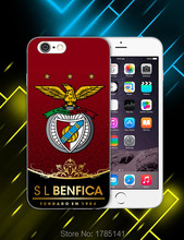 1pcs benfica hard white Skin Case for iphone6 (4.7inch) and iphone6 plus(5.5inch) Retail