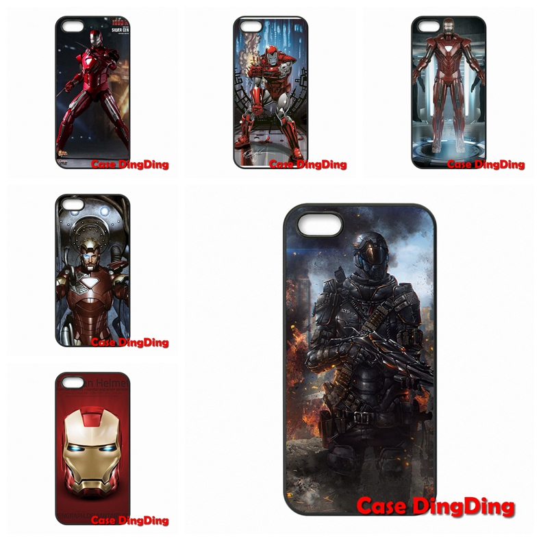 silver ironman body armor For LG G2 G3 Mini G4 G5 Google Nexus 4 5 6 E975 L5II L7II L70 L90 Stylus L65 K10 accessories Hard Skin(China (Mainland))