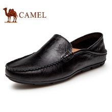 CAMEL summer handmade men driving flats shoes genuine leather loafers male,breathable soft loafers men moccasins sapatos hombre