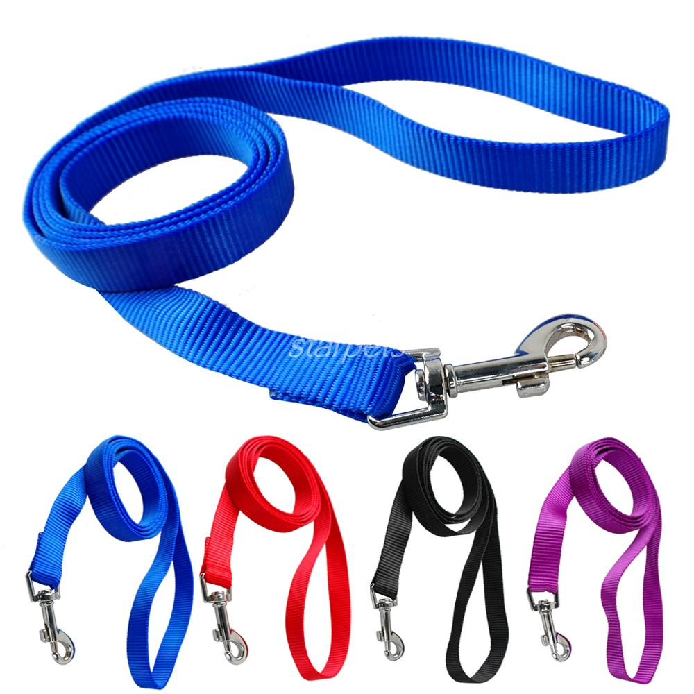 120cm Long High Quality Nylon Dog Pet Leash Lead for Daily Walking 1 0cm 1 5cm
