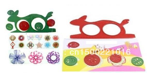 Spirograph Design Drawing Rulers Art tool Creative Drawing Set Ruller Educational Toy Game Funny Gift Classic Toy
