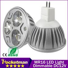 gu10 / E27 dimmable /GU5.3 E14 MR16 9W 12W 15w LED spot AC110-220V High Power Led Spotlight Light Bulbs - Pocketman Trading (HongKong store co., Ltd)