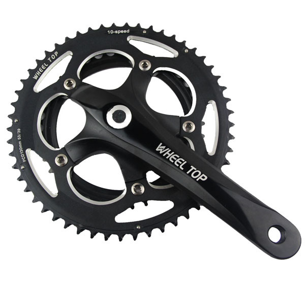 10speed Highway folding bicycles Double teeth chain wheel crankset CNC 7075 aluminium sprocket tooth disc plate of bicycle Parts(China (Mainland))