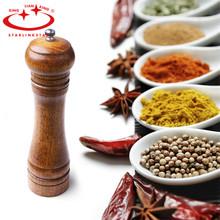 Pepper Grinder Cooking Tools Wooden Cruet Mill Condiment Grinding Salt Gourmet Shaker Machine Kitchen Tool (China (Mainland))