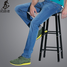 Free shipping! new 2015 fashion mens jeans casual mens 100%cotton true jeans men thin breathable men clothes fashion comfortable(China (Mainland))