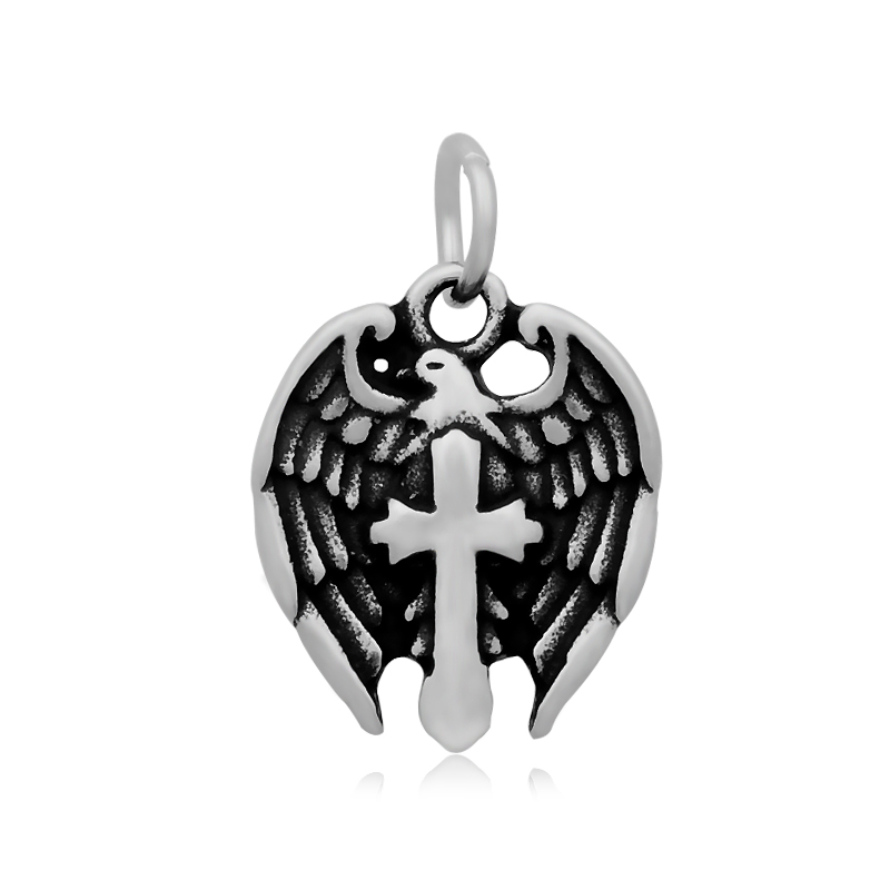 1pcs/lot Stainless Steel Charm Pendant Religious Charms For Jewelry Making(China (Mainland))