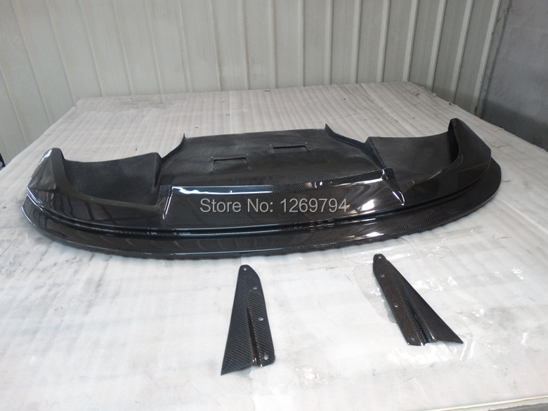 Front Lip /Front Bumper Diffuser Fit For 2010-2014  Impreza WRX STI GVB