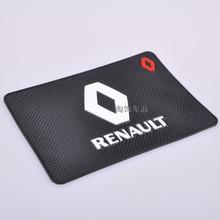 multipurpose non-slip mat Car Skidproof Mat glasses Antiskid mat GPS Holder For Renault Koleos Megane Scenic(China (Mainland))