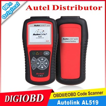 Original Autel AutoLink AL519 OBDII/EOBD Scan Tool auto code reader with TFT color display Works on ALL 1996 and newer vehicles