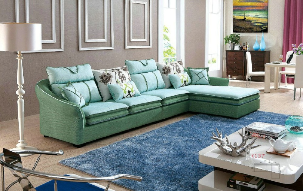 2016 chaise armchair sofas for living room european style for Low living room furniture