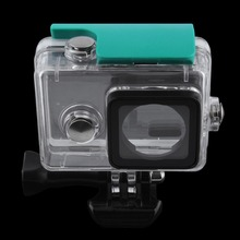 New Waterproof Protective Housing Shell Case for Xiaomi Yi Action Sports Camera Wholesale(China (Mainland))